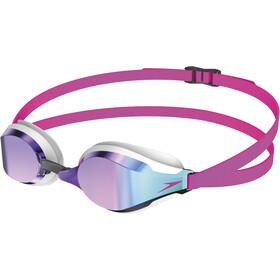 speedo Fastskin Speedsocket 2 Mirror Goggles Unisex pink/blue